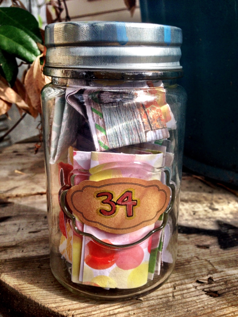 birthday intention jar
